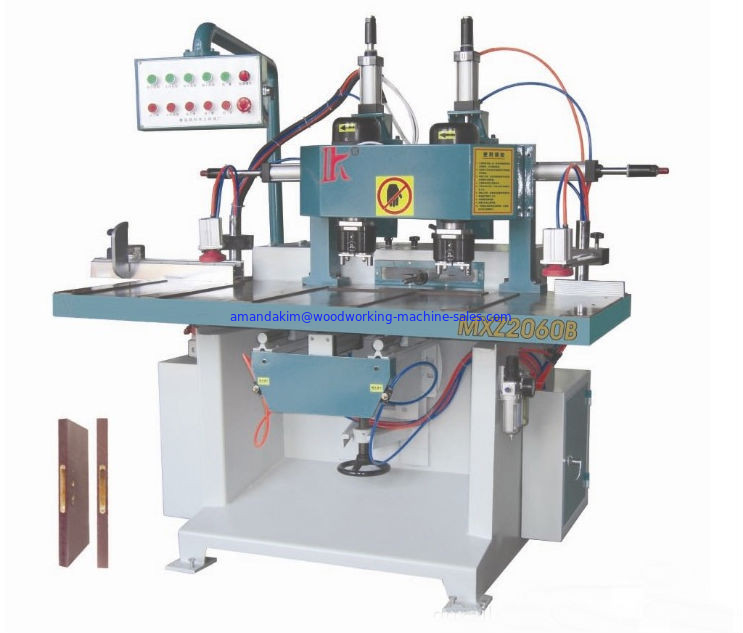 Simeautomatic Double-headed door lock mortising machines