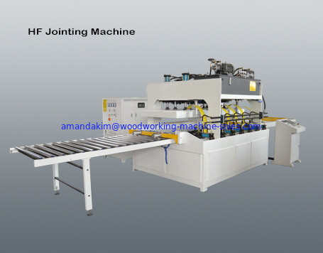High frequency vertically lifting board jointing machine